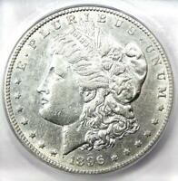 1896-S MORGAN DOLLAR $1 COIN - CERTIFIED ICG AU50 -  DATE