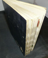 COLLECTION OF REVENUE STAMPS IN AN OLD STOCK BOOK
