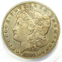 1896-S MORGAN DOLLAR $1 COIN - CERTIFIED ANACS EXTRA FINE 40 -  DATE
