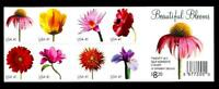1 WONDER'S  MNH STAMP BOOKLET W/ 41 BEAUTIFUL BLOSSOMS  FV