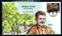 1 WONDER  2000 COLLINS HAND PAINTED FIRST DAY COVER W/ ALVIN
