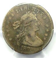 1803 DRAPED BUST HALF DIME H10C - CERTIFIED PCGS VF DETAILS -  DATE COIN