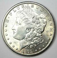 1898-S MORGAN SILVER DOLLAR $1 COIN - CHOICE AU / UNC MS - EXCELLENT LUSTER