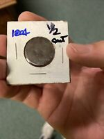 1804 HALF CENT DRAPED BUST COIN