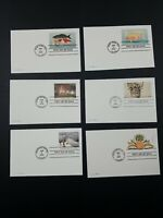 UNITED STATES POSTAL CARDS FIRST DAY CANCELS MID 2000S