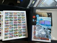 LARGE US MNH SHEETS  STAMP COLLECTION ALL PICTURED NICE