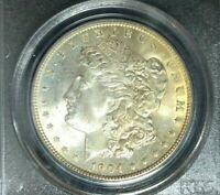 1904-O MORGAN SILVER DOLLAR - PCGS MINT STATE 64 BEAUTIFUL COIN REF8374