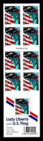 1 WONDER'S  UNFOLDED MINT BOOKLET W/ 39 STATUE OF LIBERTY  F