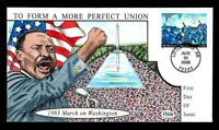 1 WONDER  COLLINS HAND PAINTED FDC W/