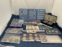 LARGE LOT OF COINS VARIOUS YEARS AND CONDITIONS 100  COINS M