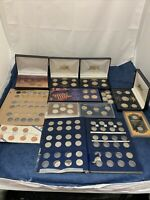 LOT OF COINS VARIOUS COINS YEARS CONDITIONS 100 COINS A252