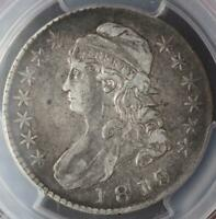 1818/7 CAPPED BUST HALF DOLLAR PCGS VF35 LARGE 8 - DOUBLEJCOIN 3002-21
