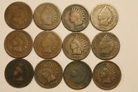 LOT 1882 1887 1888 1889 1890 1891 1892 1893 1895 96 97 99 INDIAN HEAD CENT PENNY