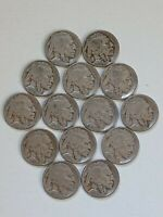 1919 P BUFFALO NICKEL CIRCULATED WITH READABLE DATES PLUS SHIPS FREE
