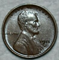 CHOICE ABOUT UNCIRCULATED 1914 D LINCOLN CENT WELL STRUCK LU