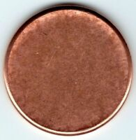 BLANK LINCOLN PENNY PLANCHET MINT ERROR COIN  COOL