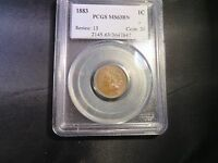 1883 INDIAN HEAD PENNEY PCGS MS63BN