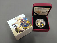 2014 ROYAL CANADIAN MINT 1OZ SILVER COIN: LEGEND OF NANABOOZHOO