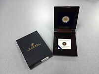 2011 ROYAL CANADIAN MINT STERLING SILVER & NIOBIUM COIN: FULL BUCK MOON  YELLOW