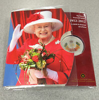 2012 ROYAL CANADIAN MINT SILVER PLATED COIN: ROYAL CYPHER  DIAMOND JUBILEE