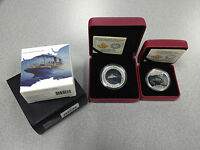 2014 LOST SHIPS SERIES   EMPRESS OF IRELAND SET: $20 SILVER AND $0.50 COINS