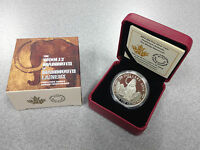 2014 ROYAL CANADIAN MINT $20 FINE SILVER COIN: WOOLLY MAMMOTH