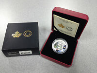 2014 ROYAL CANADIAN MINT $20 FINE SILVER COIN: VENETIAN GLASS SNOWMAN