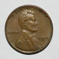 1944 D/D WHEAT CENT PENNY RPM-007 D OVER D REPUNCHED MINT MARK  B15