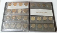 LOT OF 49UNITED STATES JOHN F KENNEDYS  HALF DOLLAR COINS 1964 1983