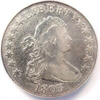 1803 DRAPED BUST HALF DOLLAR 50C O-101 - ANACS VF20 DETAILS - CERTIFIED COIN