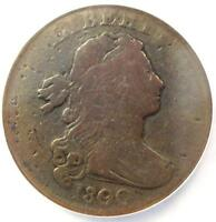 1800/79 DRAPED BUST LARGE CENT 1C S 194   NGC VG DETAILS    OVERDATE COIN