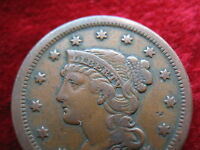 1851 U.S. LARGE CENT HIGHER GRADE QUALITY! BEAUTIFUL! FAST SHIPPING!