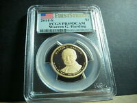 2014 S FIRST STRIKE PCGS PR69DCAM WARREN G. HARDING PRESIDENTIAL DOLLAR