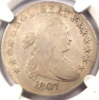 1807 DRAPED BUST HALF DOLLAR 50C O-103 - NGC FINE DETAILS -  CERTIFIED COIN