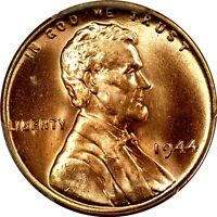 1944 1C LINCOLN CENT  PCGS MS66RD 585