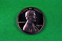 1971 S   CAMEO LINCOLN PENNY US GEM PROOF COIN