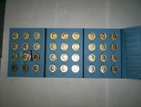 COMPLETE SET KENNEDY HALF DOLLARS 1964   1985 IN AN ALBUM INCLUDING 1970D!