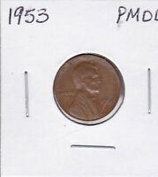 1953 LINCOLN CENT POOR MAN'S DOUBLE DIE