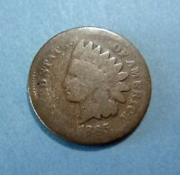 1865 INDIAN HEAD CENT - AG DETAIL, STILL A  PATINA ON THIS BETTER DATE