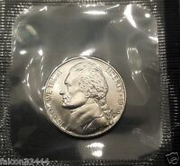 1999 P  5C JEFFERSON NICKEL. BRILLIANT UNCIRCULATED US MINT SEALED. NICE.