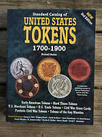 STANDARD CATALOG OF UNITED STATES TOKENS 1700   1900 RUSSEL RULAU GUIDE BOOK