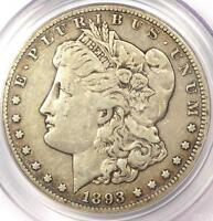 1893 CC MORGAN SILVER DOLLAR $1   PCGS VF35    DATE   CERTIFIED COIN