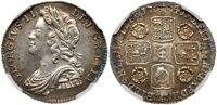 GREAT BRITAIN GEORGE II 1741 AR SIXPENCE NGC MS62 PRETTY PERIPHERAL TONING.