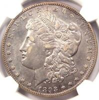 1893-O MORGAN SILVER DOLLAR $1 - NGC EXTRA FINE  DETAILS EF.  DATE - CERTIFIED COIN