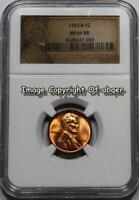 1953 D LINCOLN CENT PENNY NGC MINT STATE 66 UNCIRCULATED MINT STATE 66RD MINT STATE 66 COIN