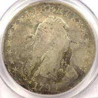 1799 DRAPED BUST SILVER DOLLAR $1   PCGS VG DETAILS    CERTIFIED COIN