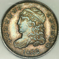1832 CAPPED BUST HALF DIME NGC MS62