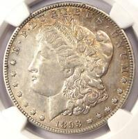1893-O MORGAN SILVER DOLLAR $1 - NGC AU53 -  DATE IN AU53 - CERTIFIED COIN