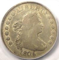 1806 DRAPED BUST QUARTER 25C   PCGS F15    EARLY DATE COIN   $1,375 VALUE