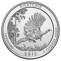 2015 AMERICA THE BEAUTIFUL KISATCHIE 5 OZ SILVER COIN